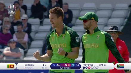 CWC19: SL v SA - Pretorius took 3/25 in his 10 overs
