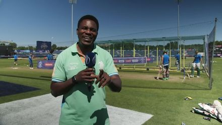 CWC19: SL v SA – At the nets