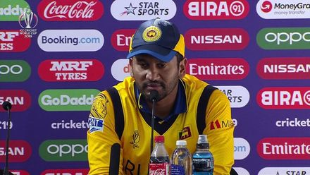 CWC19: SL v SA - Karunaratne post-match media conference