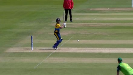 CWC19: SL v SA - Kusal Mendis is caught at cover point
