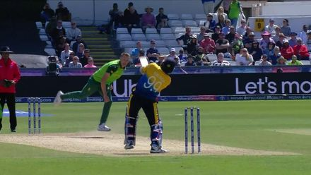 CWC19: SL v SA - Malinga chips Morris to mid-off