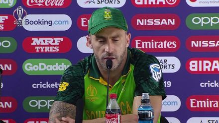 CWC19: SL v SA - Faf du Plessis press conference