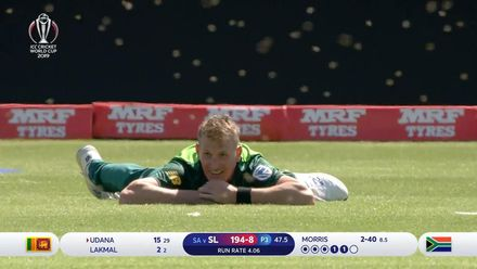 CWC19: SL v SA - Play stopped by bees!