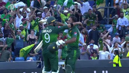 CWC19: PAK v AFG - The winning moment