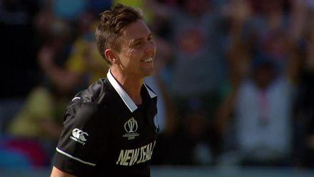 CWC19: NZ v AUS - Trent Boult's hat-trick