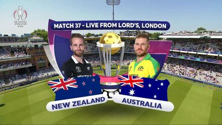 CWC19: NZ v AUS - Australia post 243/9 highlights