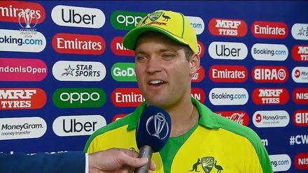 CWC19: NZ v AUS - Player of the Match, Alex Carey