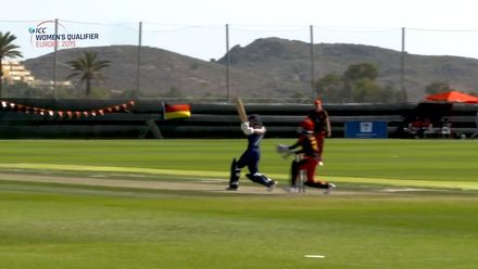 ICC Women's T20 World Cup Europe Qualifier: Sco v Ger - Kathryn Bryce's 46-ball 65