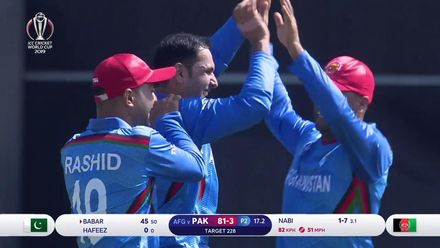 CWC19: PAK v AFG - Pakistan wickets to fall
