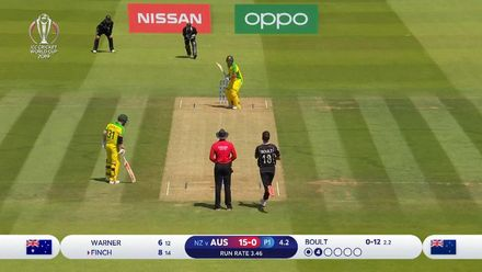 CWC19: NZ v AUS - Trent Boult bowling highlights