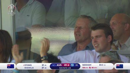 CWC 19: NZ v AUS – Australia wickets