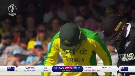 CWC19: NZ v AUS - Usman Khawaja batting highlights