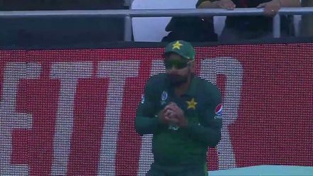 CWC19: PAK v AFG - Second wicket for Imad Wasim