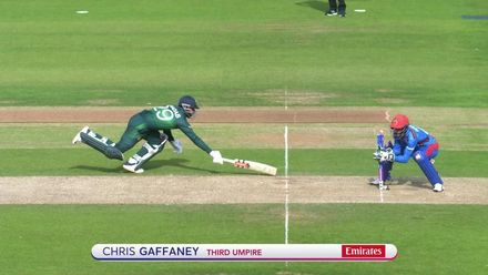 CWC19: PAK v AFG - Shadab run out