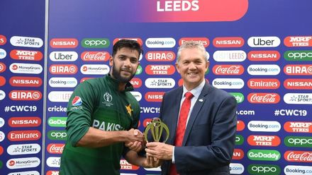 CWC19: PAK v AFG - Post match presentation