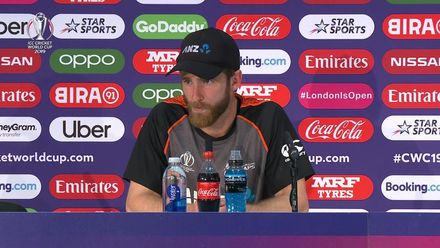 CWC19: NZ v AUS – Kane Williamson post-match press conference