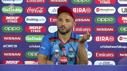 CWC19: PAK v AFG - Gulbadin press conference