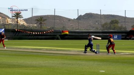 ICC Women's T20 World Cup Europe Qualifier: Sco v Ger - Becky Glen's 48-ball 60