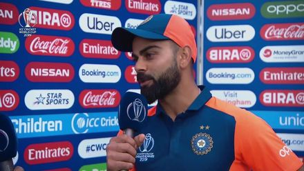 CWC19: ENG v IND - Post match presentation