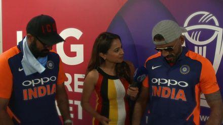 CWC19: ENG v IND - India's new orange shirts