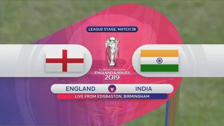 CWC19: ENG v IND - Highlights of England's innings
