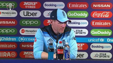 CWC19: ENG v IND - Eoin Morgan post match press conference