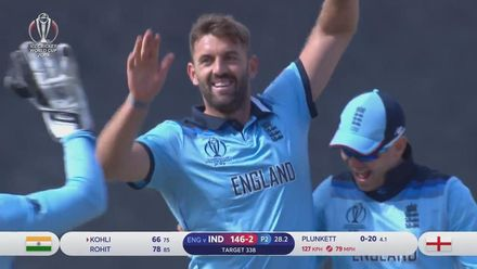 CWC19: ENG v IND - Highlights of Liam Plunkett's 3/55
