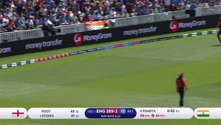 CWC19: ENG v IND - Highlights of Ben Stokes' 79