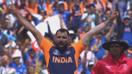CWC19: ENG v IND - Highlights of Mohammed Shami's 5/69