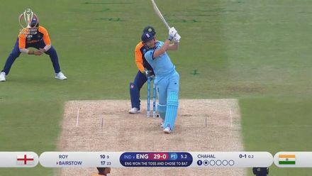 CWC19: ENG v IND - Match highlights