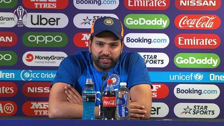 CWC19: ENG v IND - Rohit Sharma post match press conference