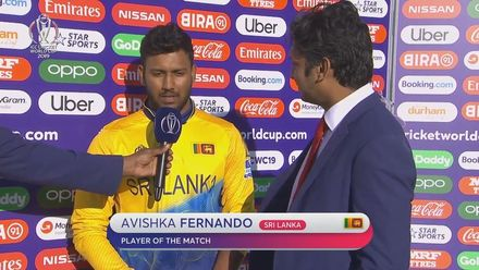 CWC19: SL v WI - Player of the match, Avishka Fernando
