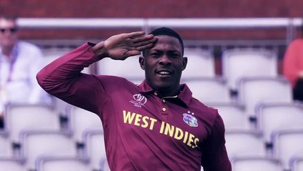CWC 19: Sheldon Cottrell – A soldier's salute