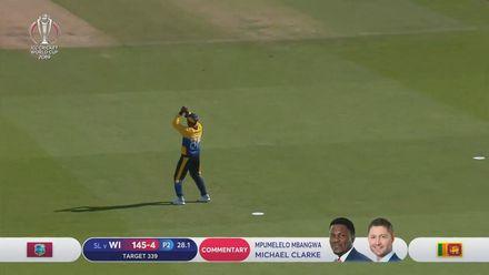 CWC19: SL v WI - Vandersay has Holder caught at mid-on