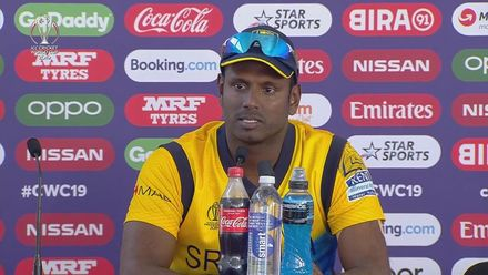 CWC19: SL v WI - Angelo Mathews press conference