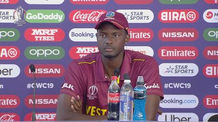 CWC19: SL v WI - Jason Holder press conference