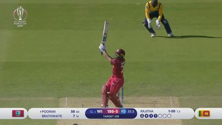 CWC19: SL v WI - Oppo Be a Shotmaker: Nicholas Pooran