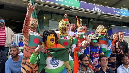 CWC19: BAN v IND - Fans from both sides react to Rohit being dropped