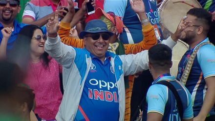 CWC19: BAN v IND - The Indian fans are enjoying themselves
