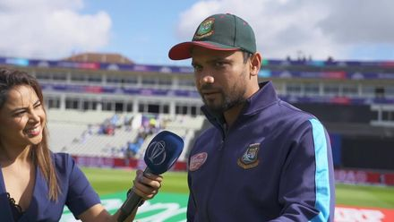 CWC19: BAN v IND - Mortaza talks about his run-up