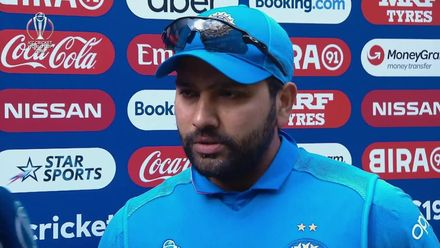 CWC19: BAN v IND - Player of the match, Rohit Sharma