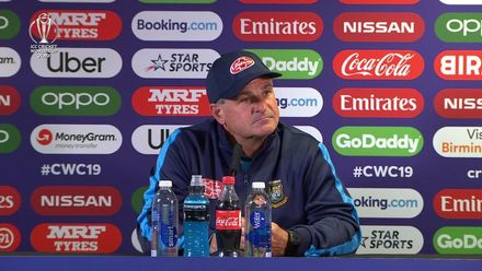 CWC19: BAN v IND - Steve Rhodes post-match press conference
