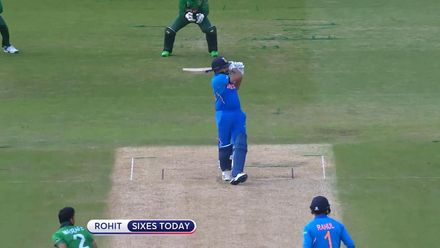 CWC19: BAN v IND - Rohit's sixes