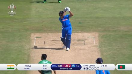 Nissan POTD: Rohit hits six over cover in the sixth over