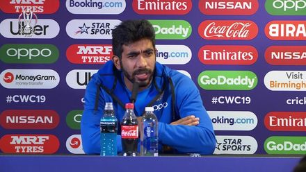 CWC19: BAN v IND - Bumrah post-match media conference