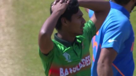 CWC19: BAN v IND - Tamim drops Rohit early on