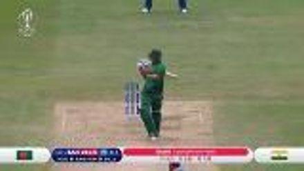 CWC19: BAN v IND - Highlights of Saifuddin's 51*