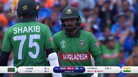 CWC19: BAN v IND - Highlights of Bangladesh's chase