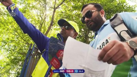 CWC19: BAN v IND - The Cricketeers have been ensuring smooth sailing for fans