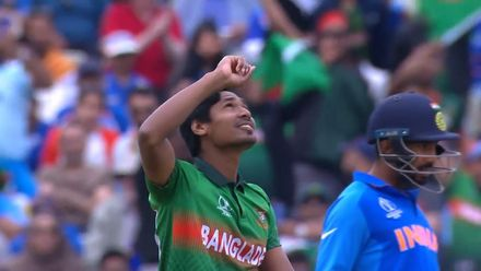 CWC19: BAN v IND - Shami is Mustafizur's fifth wicket